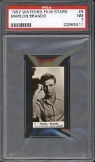 1952 Watford MARLON BRANDO #9 PSA NM 7 Film Stars
