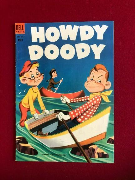 "1953, Howdy Doody, ""DELL"" Comic Book  No. 24  (Scarce / Vintage)"