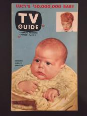 "1953 Lucille Ball, First Issue ""TV Guide"" (No Label)"