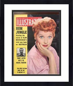 "1953, Lucille Ball ""ILLUSTRATED"" Magazine, (Scarce)"