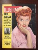 "1953, Lucille Ball ""ILLUSTRATED"" Magazine, (Scarce)"