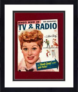 "1953, Lucille Ball, ""TV & RADIO"" Magazine (No Label)  Scarce  (I Love Lucy)"