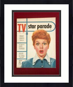 "1953, Lucille Ball, ""TV Star Parade""  Magazine (No Label) Scarce / Vintage"