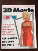 "1953 Marilyn Monroe, ""3D Movie"" Magazine (Scarce) (No Label) (w/Glasses!!)"