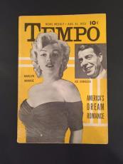 "1953 Marilyn Monroe / Joe DiMaggio ""TEMPO"" Magaine"