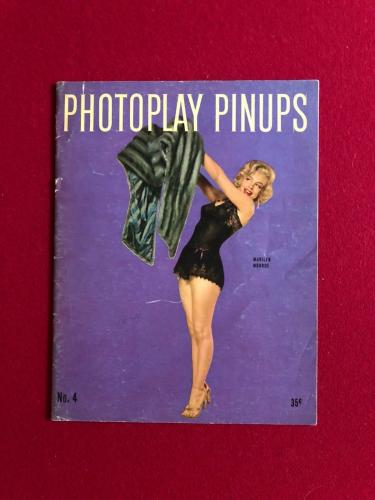 "1953, Marilyn Monroe, ""PHOTOPLAY PINUPS"" Magazine (No Label) Scarce"