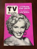 "1953 Marilyn Monroe, ""TV Guide"" (Rare) (No Label on Front)"