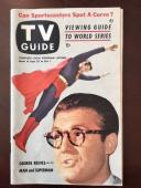 """1953, Superman, """"TV Guide"""", (No Label on Front), Scarce"""
