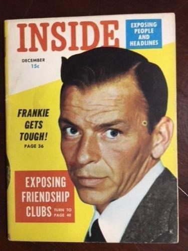 "1954, Frank Sinatra, ""Inside"" Magazine (The Voice)"