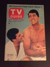 "1954 Jerry Lewis & Dean Martin, ""TV Guide"", (No Label Front)"