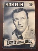 "1954, John Wayne, ""MON FILM"" Magazine  (Scarce)  ""The Duke"" (Early Cover)"