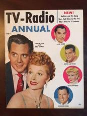 "1954, Lucille Ball (I Love Lucy), ""TV-Radio Annual"" Magazine (Scarce)"