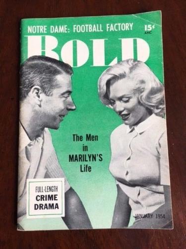 "1954, Marilyn Monroe, 'BOLD"" Magazine"