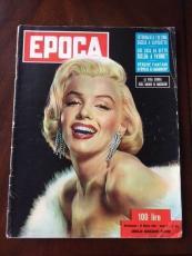 "1954 Marilyn Monroe, ""EPOCA"" Magazine (Scarce) (No Label)"