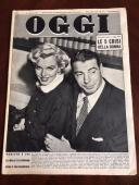"1954, Marilyn Monroe, ""OGGI"" Magazine"