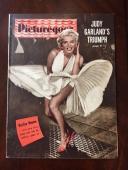 "1954 Marilyn Monroe, ""Picturegoer"" Magazine (Scarce) (No Label)"