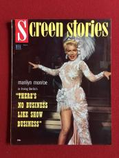 "1954, Marilyn Monroe, ""Screen Stories"" Magazine (No Label) Scarce"