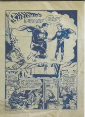 1954 Superman's Buddy Printer's Proof Comic Book DC Official Reprint