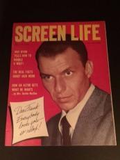 "1955 Frank Sinatra, ""Screen Life"" Magazine (No Label)"