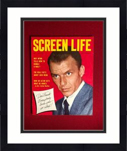 "1955, Frank Sinatra, ""SCREEN LIFE"" Magazine  (No Label ) Scarce / Vintage"
