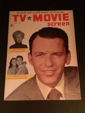 "1955 Frank Sinatra, ""TV & Movie"" Magazine (No Label)"