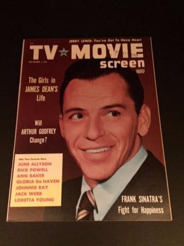 "1955 Frank Sinatra, ""TV & Movie Screen"" Magazine (No Label)"