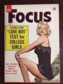 "1955, Marilyn Monroe, ""Focus"" Magazine (Vol 5, No. 1)"