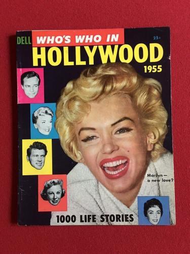 "1955, Marilyn Monroe, ""HOLLYWOOD 1955"" Magazine (No Label) Scarce"