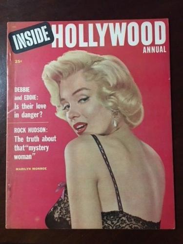 "1955 Marilyn Monroe, ""Inside Hollywood"" Magazine, (No Label), Scarce"