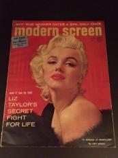 "1955 Marilyn Monroe, ""Modern Screen"" Magazine (No Label)"