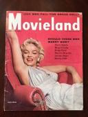 "1955 Marilyn Monroe, ""Movieland"" Magazine (Scarce) (No Label)"