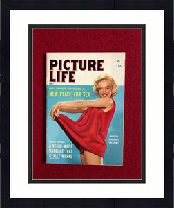"1955, Marilyn Monroe, ""PICTURE LIFE"" Magazine (Scarce)"
