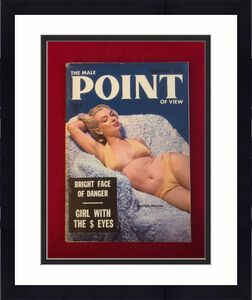 "1955, Marilyn Monroe, ""POINT"" Magazine (Scarce)"
