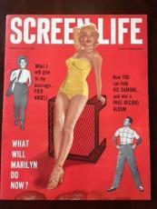 "1955 Marilyn Monroe, ""Screen Life"" Magazine (Scarce) (No Label)"