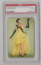 1955 Movie Stars Of Mgm Ann Miller Hit The Deck Psa 9 Mint & Centered