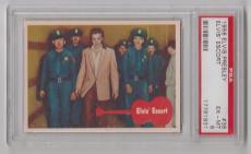 1956 Bubbles Elvis Presley Elvis' Escort Card #38 Psa 6 Ex-mt & Centered