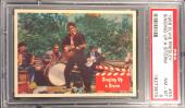 1956 Bubbles Inc Elvis Presley Singing Up A Storm Card #55 Psa 8 Nm-mt Centered