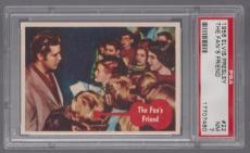 1956 Bubbles Inc Elvis Presley The Fan's Friend Card #22 Psa 7 Near Mint