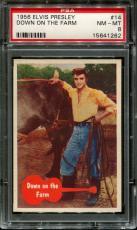 1956 Elvis Presley #14 Down On The Farm Psa 8 N2523339-262
