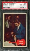 1956 Elvis Presley #18 Signing Session Low Pop Psa 8 N2523343-187