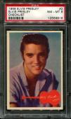 1956 Elvis Presley #2 Elvis Presley Checklist Psa 8 N2523327-816
