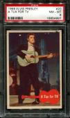 1956 Elvis Presley #20 A Tux For Tv Psa 8 N2523345-997