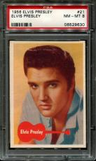 1956 Elvis Presley #21 Elvis Presley Psa 8 N2523346-630