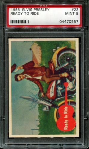 1956 Elvis Presley #23 Ready To Ride Pop 8 Psa 9 N2587043-557