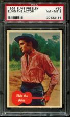 1956 Elvis Presley #30 Elvis The Actor Psa 8 N2523355-156