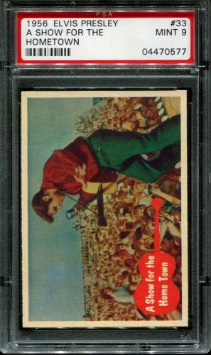 1956 Elvis Presley #33 A Show For The Pop 2 Psa 9 N2587050-577
