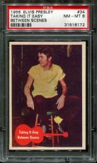 1956 Elvis Presley #34 Taking It Easy Psa 8 N2523359-172