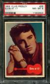 1956 Elvis Presley #35 Elvis At 17 Psa 8 N2523360-823