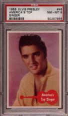 1956 Elvis Presley #46 America's Top Psa 8 N2292850-956