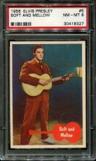1956 Elvis Presley #5 Soft And Mellow Psa 8 N2523330-327